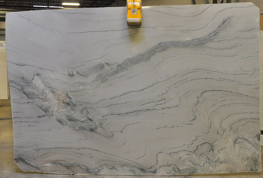 Aquarius quartzite slab polished