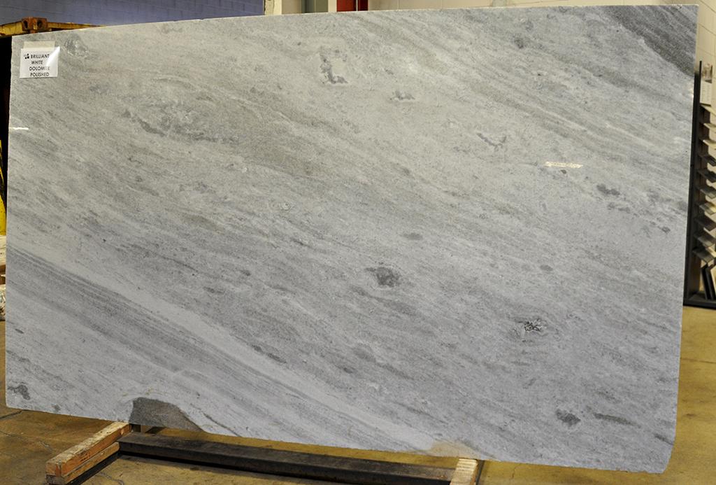 Brilliant White dolomite slabs