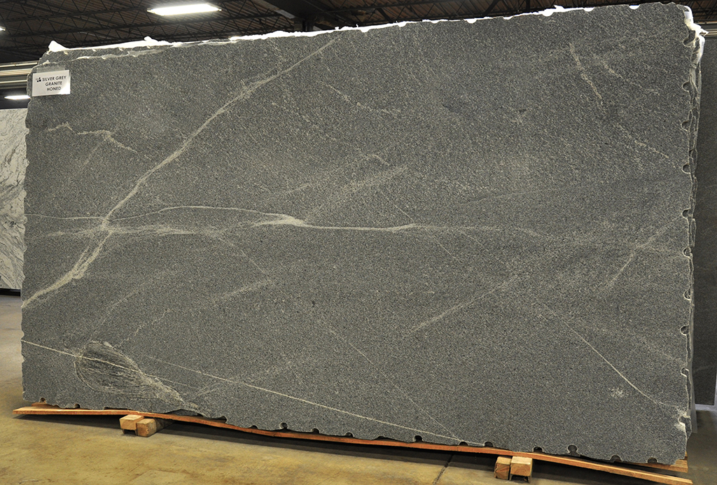 Silver Grey granite slab