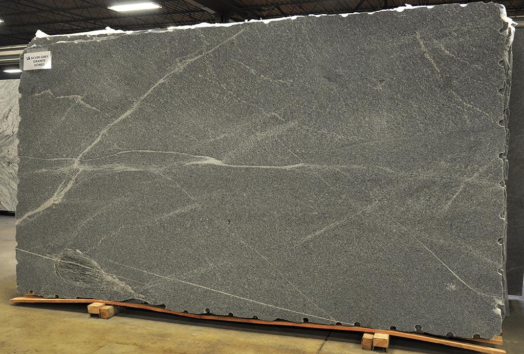 Silver Grey granite slab
