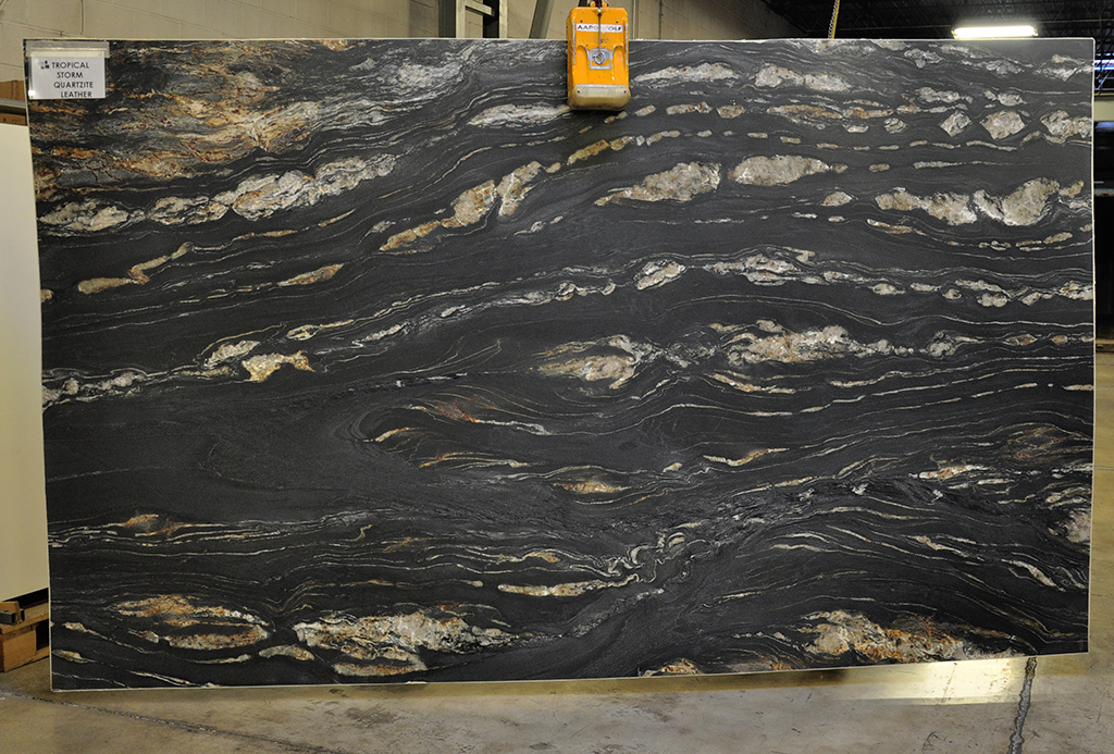 Tropical Storm brushed quartzite