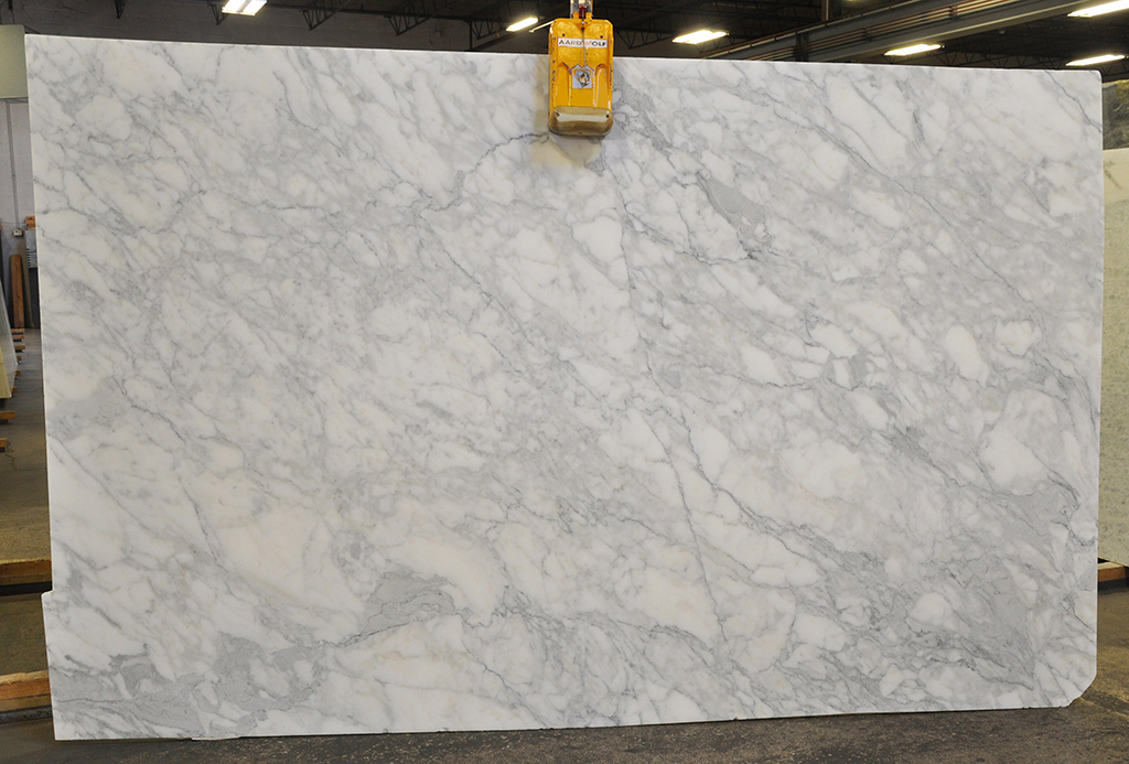 Calacata Gold honed marble
