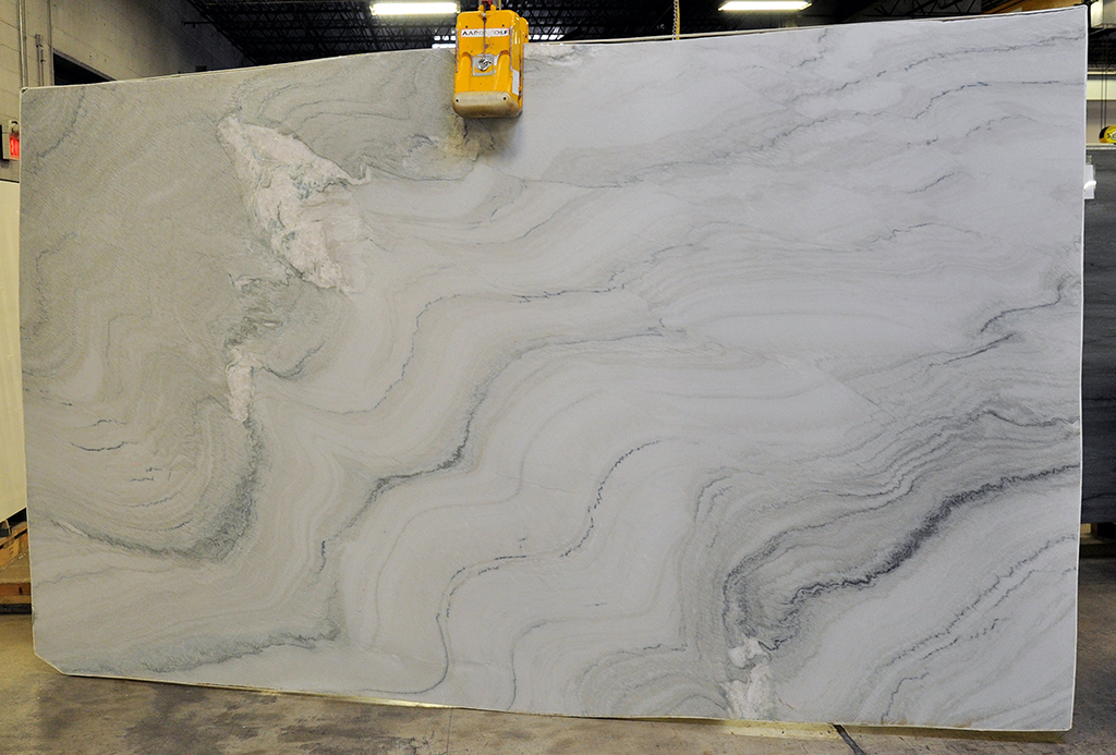 Aquarius brushed quartzite