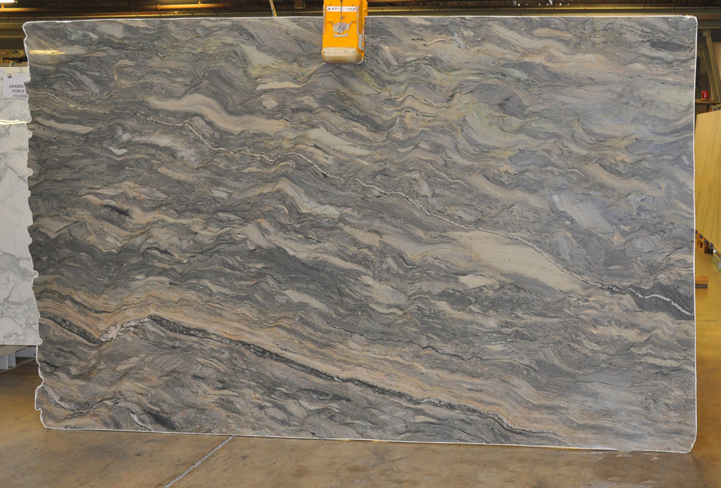 Le Jardin polished quartzite