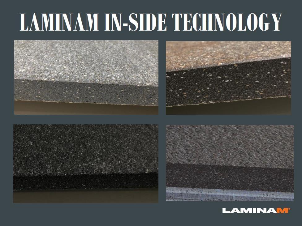 LAMINAM TECHNOLOGY FOR CERAMIC SLABS